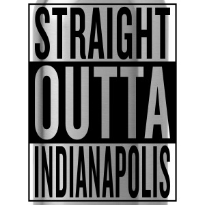 Indianapolis T-Shirts - Water Bottle