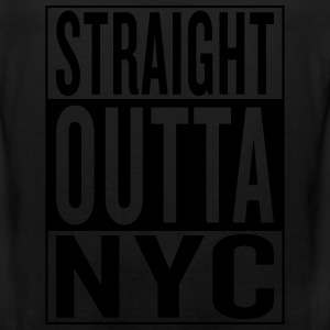 straight outta NYC T-Shirts - Men's Premium Tank