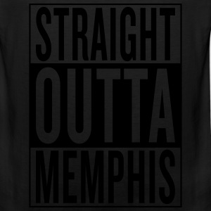 straight outta Memphis Women's T-Shirts - Men's Premium Tank