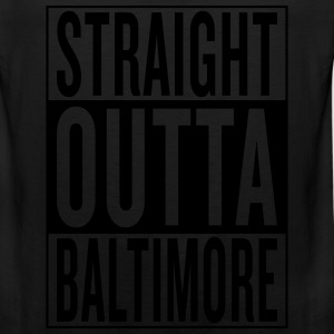straight outta Baltimore T-Shirts - Men's Premium Tank