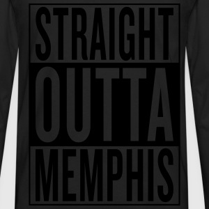 straight outta Memphis Women's T-Shirts - Men's Premium Long Sleeve T-Shirt