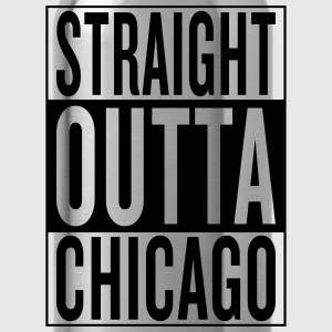 straight outta Chicago Women's T-Shirts - Water Bottle