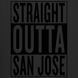 straight outta San Jose T-Shirts - Trucker Cap