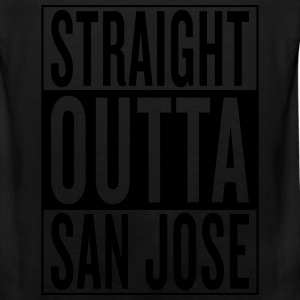 straight outta San Jose T-Shirts - Men's Premium Tank