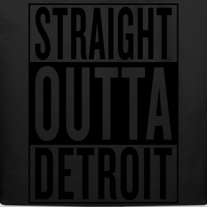 straight outta Detroit T-Shirts - Eco-Friendly Cotton Tote
