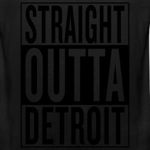 straight outta Detroit T-Shirts - Men's Premium Tank