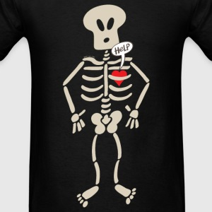 Heart Imprisoned in a Rib Cage Caps - Men's T-Shirt