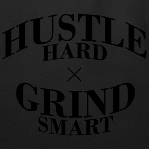 Hustle Hard Grind Smart - Eco-Friendly Cotton Tote