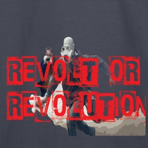REVOLT.png Hoodies - Kids' Long Sleeve T-Shirt