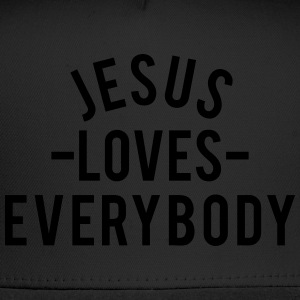 Jesus Loves Everybody Women's T-Shirts - Trucker Cap