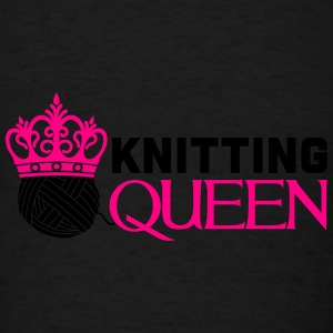 Knitting queen Tanks - Men's T-Shirt