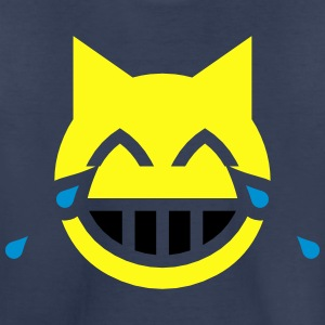 Tears of Joy Emoji Cat Kids' Shirts - Toddler Premium T-Shirt
