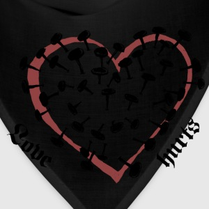 Love Hurts Women's T-Shirts - Bandana