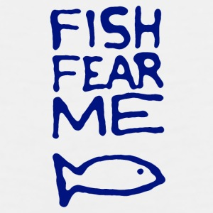 Fish Fear Me Coffee Mug - Men's Premium Tank