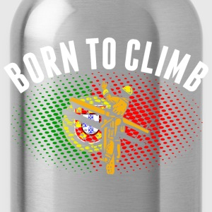 Born To Climb Portuguese Lineman - Water Bottle