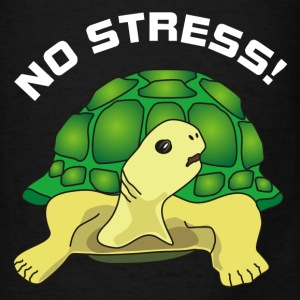no stress Bags & backpacks - Men's T-Shirt