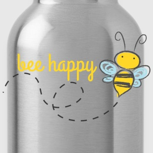 Bee Happy Kids Shirt - Water Bottle