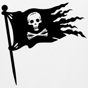 pirate flag T-Shirts - Men's Premium Tank