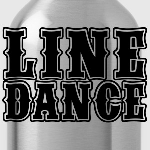Line Dance Bold Women's T-Shirts - Water Bottle