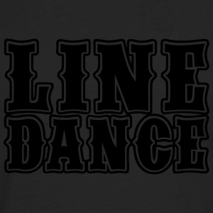 Line Dance Bold Women's T-Shirts - Men's Premium Long Sleeve T-Shirt
