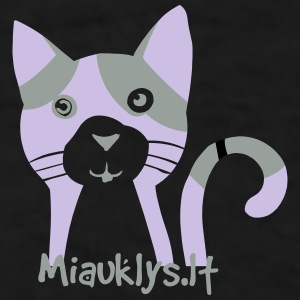 Miauklys Cup Black - Men's T-Shirt