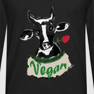 VEGAN COW - Men's Premium Long Sleeve T-Shirt
