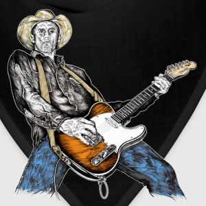 Country Rock Guitarist T-Shirts - Bandana