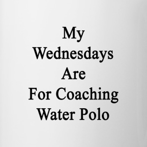 my_wednesdays_are_for_coaching_water_pol T-Shirts - Coffee/Tea Mug