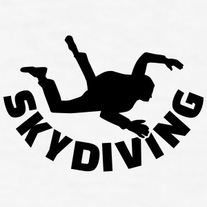 Skydiving Mugs & Drinkware - Men's T-Shirt
