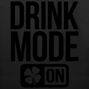 DRINK MODE ON IRISH  - Eco-Friendly Cotton Tote