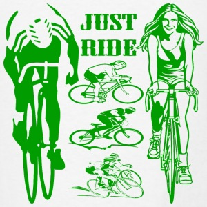 Bicycling Just Ride  - Men's T-Shirt