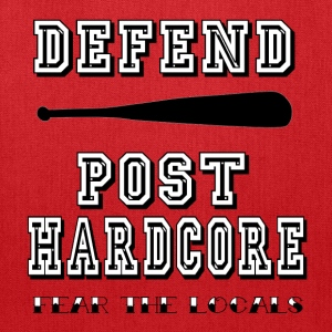 Defend Post Hardore.png Hoodies - Tote Bag