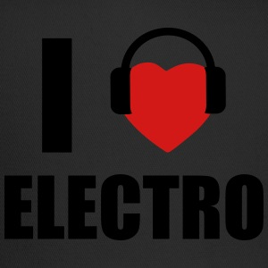 I LOVE ELECTRO MUSIC T-Shirts - Trucker Cap