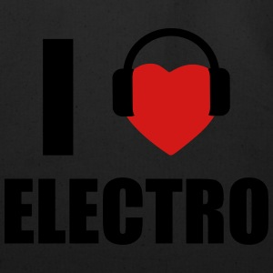 I LOVE ELECTRO MUSIC T-Shirts - Eco-Friendly Cotton Tote