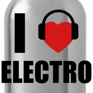 I LOVE ELECTRO MUSIC T-Shirts - Water Bottle