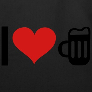 I LOVE BEER Hoodies - Eco-Friendly Cotton Tote