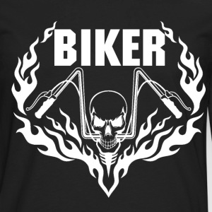biker Biker girl hairy biker christian biker bik - Men's Premium Long Sleeve T-Shirt