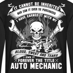Auto mechanic auto mechanic - Men's Premium Long Sleeve T-Shirt