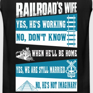 Railroad railroad railroad funny grand funk rai - Men's Premium Tank