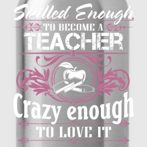 Teacher nerdy teacher computer teacher teachers - Water Bottle