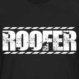 Roofer roofers roofers coffee shop roofer - Men's Premium Long Sleeve T-Shirt