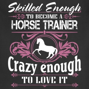 horse trainer - Adjustable Apron