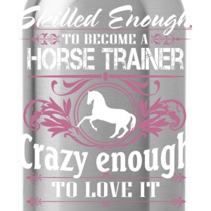 horse trainer - Water Bottle
