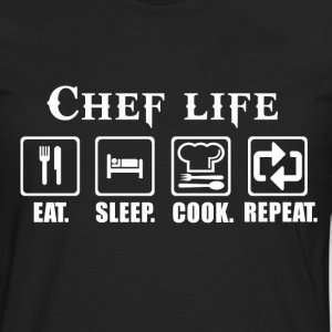 Chef pastry chef swedish chef chef muppets swedi - Men's Premium Long Sleeve T-Shirt