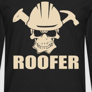 Roofer roofers coffee shop roofer roofers - Men's Premium Long Sleeve T-Shirt