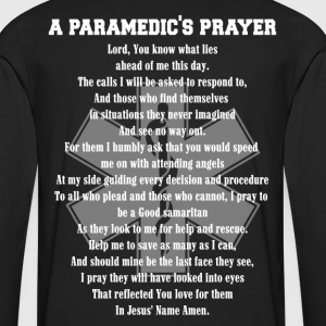 Paramedic hfd firefighter paramedic emt rescue f - Men's Premium Long Sleeve T-Shirt
