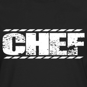 Chef pastry chef design drunk chef pirate chef s - Men's Premium Long Sleeve T-Shirt