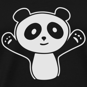 Panda Hug Tanks - Men's Premium T-Shirt