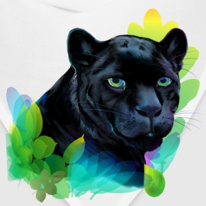 Black Panther and Blended Jungle - Bandana
