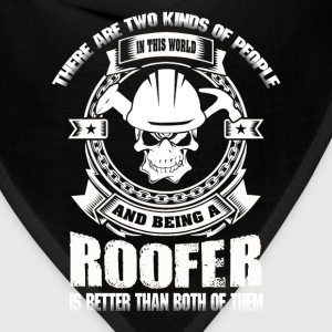 Roofer roofers roofer roofers coffee shop - Bandana